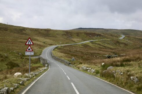FD0007 Isolated Road Wales 1