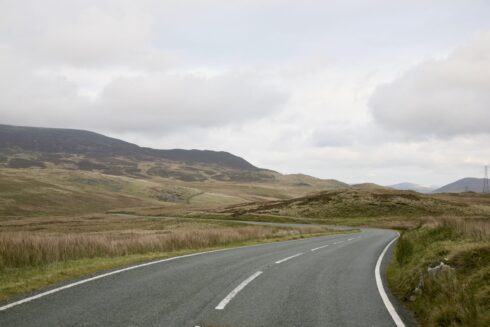 FD0007 Isolated Road Wales 11
