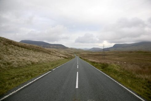 FD0007 Isolated Road Wales 12
