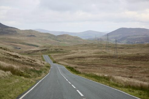 FD0007 Isolated Road Wales 13
