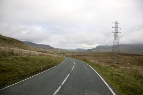FD0007 Isolated Road Wales 14
