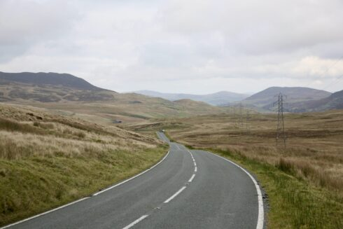 FD0007 Isolated Road Wales 15