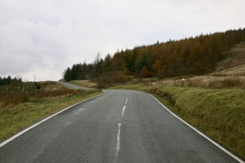 FD0007 Isolated Road Wales 16