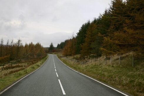FD0007 Isolated Road Wales 17