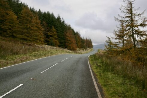 FD0007 Isolated Road Wales 18