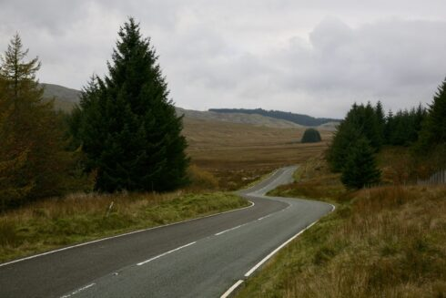 FD0007 Isolated Road Wales 19