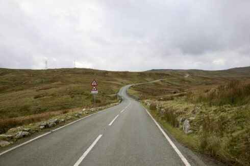 FD0007 Isolated Road Wales 2