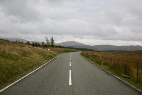 FD0007 Isolated Road Wales 20