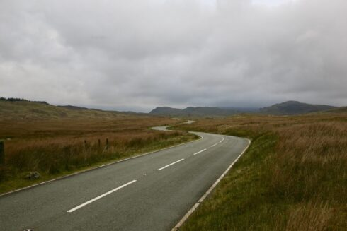 FD0007 Isolated Road Wales 21