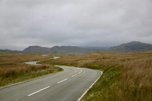 FD0007 Isolated Road Wales 22