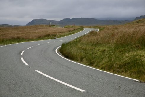 FD0007 Isolated Road Wales 24