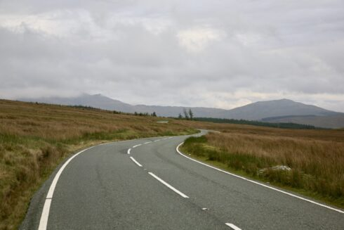 FD0007 Isolated Road Wales 25