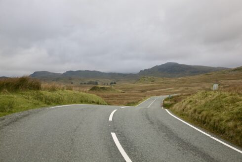 FD0007 Isolated Road Wales 26