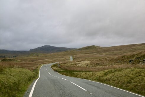 FD0007 Isolated Road Wales 27