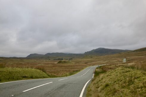 FD0007 Isolated Road Wales 28