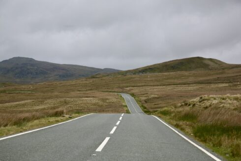 FD0007 Isolated Road Wales 29