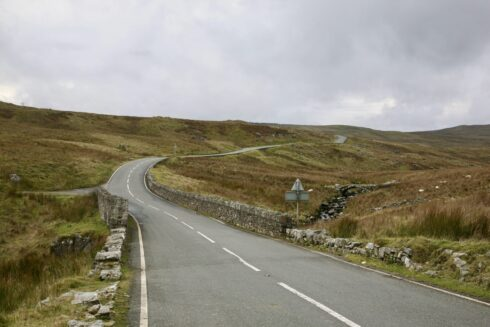 FD0007 Isolated Road Wales 3