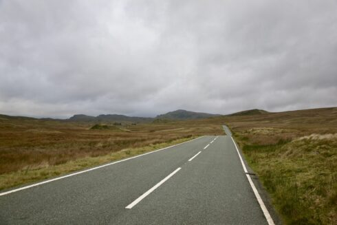 FD0007 Isolated Road Wales 30