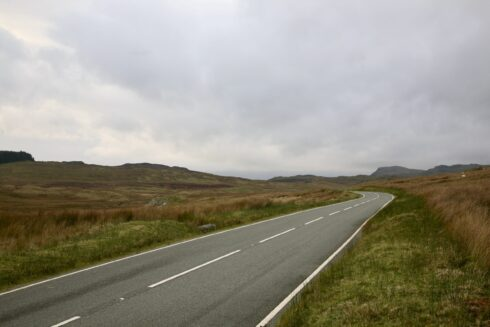FD0007 Isolated Road Wales 32