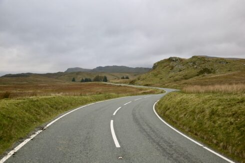 FD0007 Isolated Road Wales 38