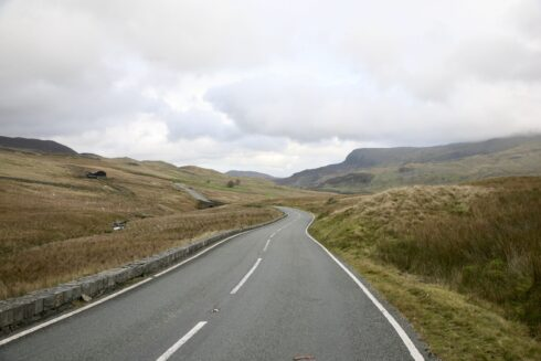 FD0007 Isolated Road Wales 4