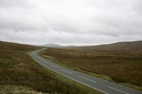 FD0007 Isolated Road Wales 40