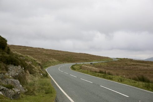 FD0007 Isolated Road Wales 42