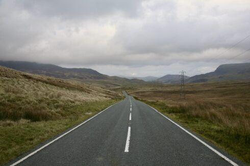 FD0007 Isolated Road Wales 43