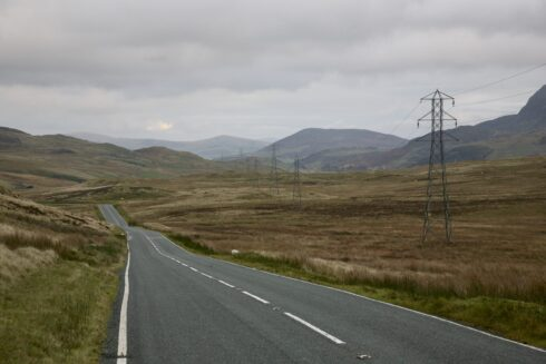 FD0007 Isolated Road Wales 44