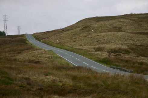 FD0007 Isolated Road Wales 48