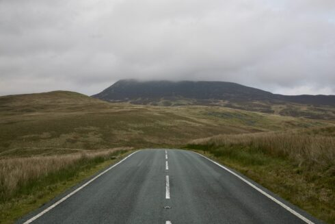 FD0007 Isolated Road Wales 49