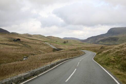 FD0007 Isolated Road Wales 5