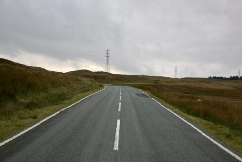 FD0007 Isolated Road Wales 50