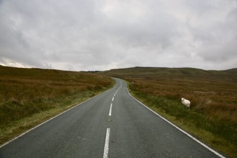 FD0007 Isolated Road Wales 51