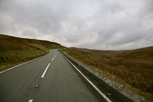 FD0007 Isolated Road Wales 52