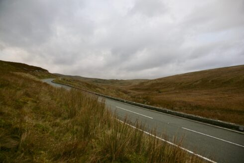FD0007 Isolated Road Wales 53