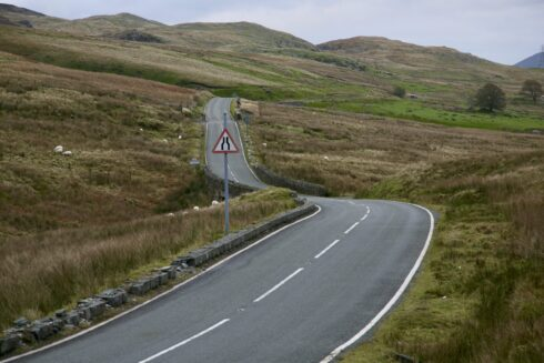 FD0007 Isolated Road Wales 54