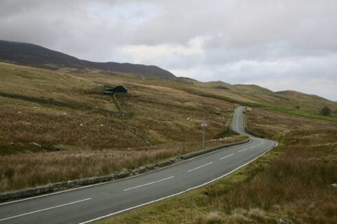 FD0007 Isolated Road Wales 55