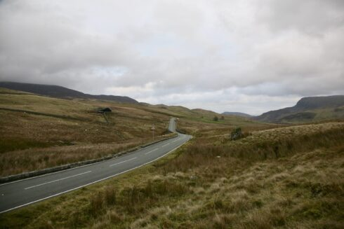 FD0007 Isolated Road Wales 57