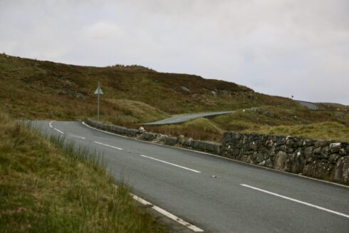 FD0007 Isolated Road Wales 58