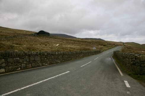 FD0007 Isolated Road Wales 59