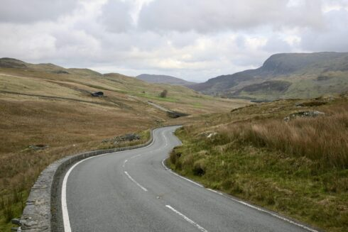 FD0007 Isolated Road Wales 6