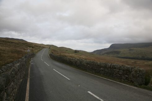FD0007 Isolated Road Wales 60