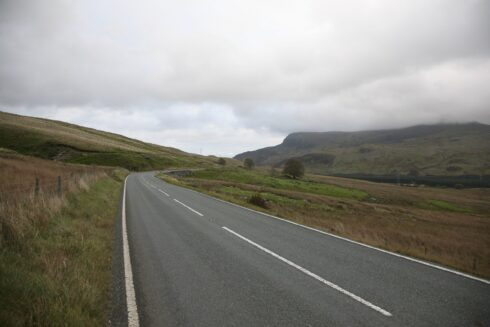 FD0007 Isolated Road Wales 61