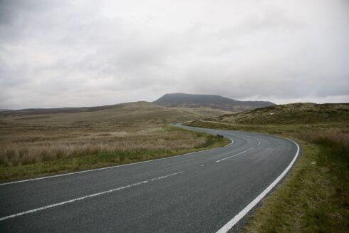 FD0007 Isolated Road Wales 62