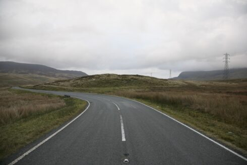 FD0007 Isolated Road Wales 63