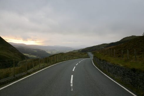 FD0007 Isolated Road Wales 64