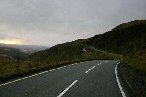 FD0007 Isolated Road Wales 65