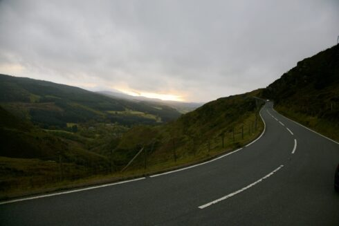 FD0007 Isolated Road Wales 67