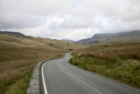FD0007 Isolated Road Wales 7